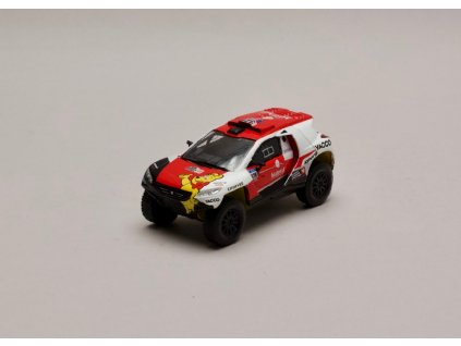 Peugeot 2008 DKR+ #328 Rally Dakar 2016 1 43 Magazine models 01