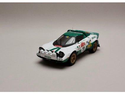 Lancia Stratos HF Alitalia #11 Winner Rally San Remo 1975 1 18 IXO 18RMC061B 01