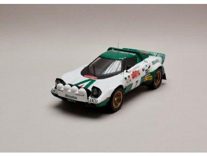 Lancia Stratos HF Alitalia #7 Rally San Remo 1975 1 18 IXO 18RMC061C 01