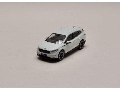 Škoda Enyaq iV bílá Moon 1 43 i scale 5LA099300 S9R 01