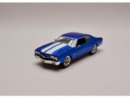 Chevrolet Chevelle 1970 modrá bílé pruhy 1 24 Jada Toys 31450 01