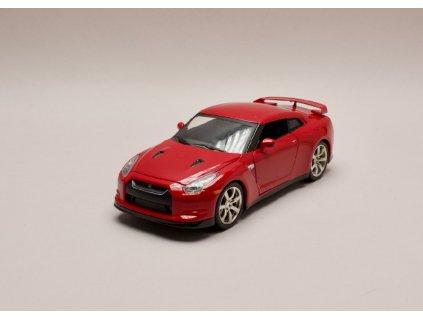 Nissan GTR (R35) 2009 červená 1 24 Jada Toys 96811 01