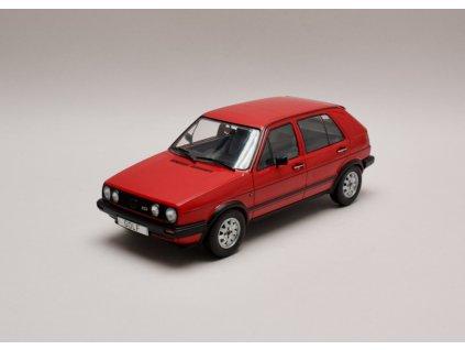 Volkswagen VW Golf II GTD 5 dvéřový červená 1 18 MCG MCG18204 01