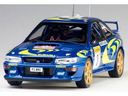 Subaru Impreza WRC #3 Rally Monte Carlo 1997 1 18 Auto Art 89790 01