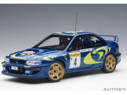 Subaru Impreza WRC #4 Vítěz Rally Monte Carlo 1997 1 18 Auto Art 89791 01