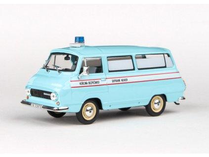 Škoda 1203 1974 Veřejná Bezpečnost Dopravní Nehody 1 43 Abrex 143ABSX 715XA1 01