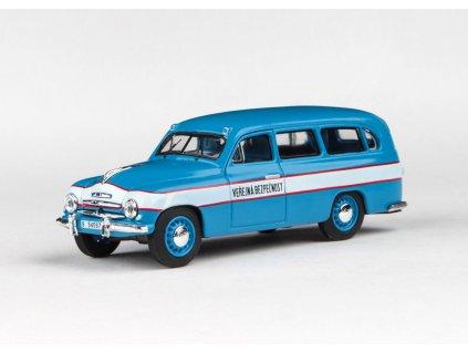 Škoda 1201 1956 Veřejná Bezpečnost 1 43 Abrex 143ABSX 718XA 01