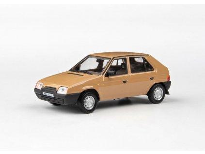 Škoda Favorit 136L 1988 hnědá Beduinská 1 43 Abrex 143ABSX 708RD 01