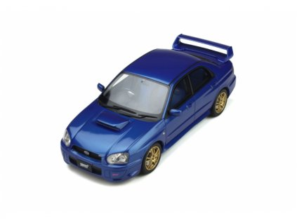 Subaru Impreza 2 Ph.2 WRX STI 2003 modrá %22resin model %22 1 18 OttOmobile OT369 01
