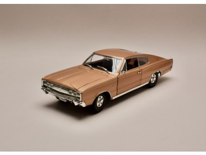 Dodge Charger 1966 bronzová 1 18 Lucky Die Cast 92638 01