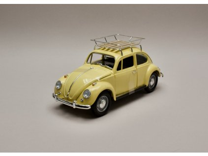 Volkswagen Beetle 1967 %22Camping version%22 žlutá 1 18 Lucky Die Cast 92207 01