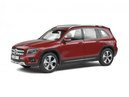 Mercedes Benz GLB X247 2019 červená metalíza 1 18 Solido 1803203 01