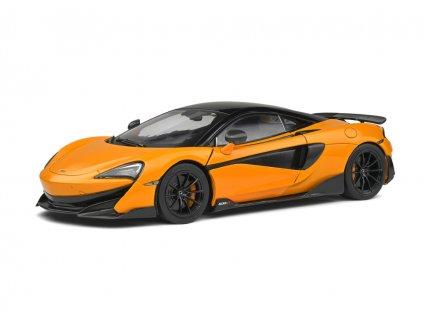 McLaren 600 LT 2018 oranžová černá 1 18 Solido 1804501 01