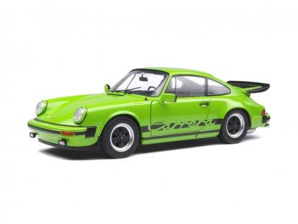 Porsche 911 (930) Carrera 3.2 Coupé 1984 zelená 1 18 Solido 1802603 01