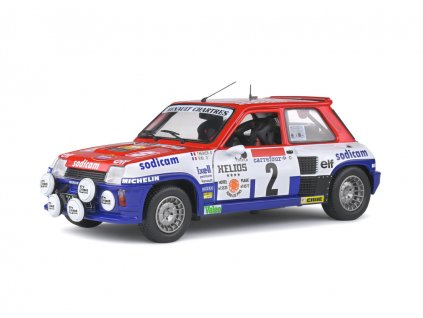Renault 5 Turbo #2 Rallye D'Antibes 1983 1 18 Solido 1801310 01