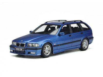 BMW 328i E36 Touring 1997 M Pack modrá %22resin model %22 1 18 OttOmobile OT358 01