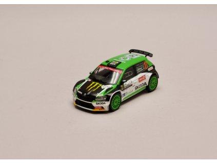 Škoda Fabia R5 Evo #27 ACI Rally Monza 2020 1 43 IXO RAM773 01
