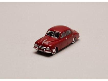 Škoda 1200 Sedan 1952 tmavě červená 1 43 IXO CLC371N 01