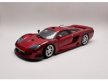 Saleen S7 Tvin Turbo 2005 červená metalíza 1 12 Motor Max 73005 01