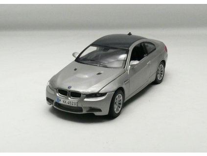 BMW M3 Coupe 2008 šedá 1:24 Motor Max