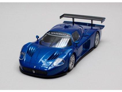 Maserati MC 12 Corsa 2007 modrá 1:24 Motor Max