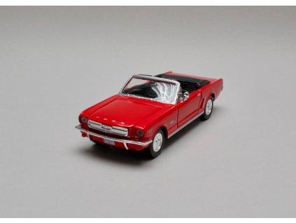 Ford Mustang 1964 1/2 Convertible červená 1:24 Motor Max
