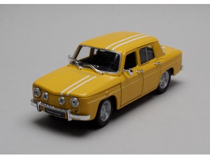 Renault R8 Gordini 1964 žlutá 1:24 Welly