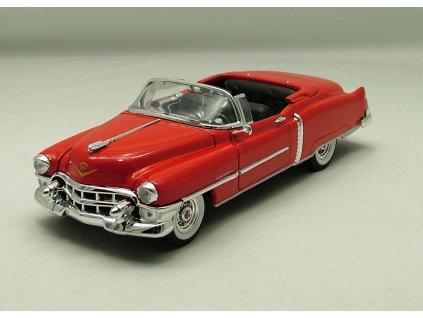 Cadillac Eldorado 1953 Convertible červená 1:24 Welly