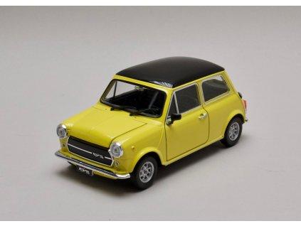 Mini Cooper 1300 žluto-černá 1:24 Welly