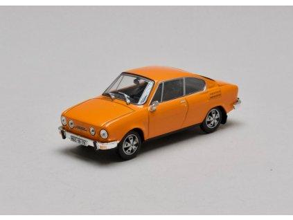 Škoda 110R Coupé 1980 oranžová 1:43 Abrex