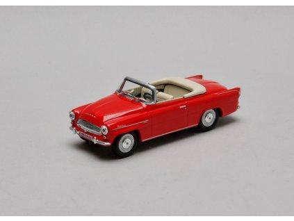 Škoda Felicia Roadster 1963 červená světlá 1:43 Abrex
