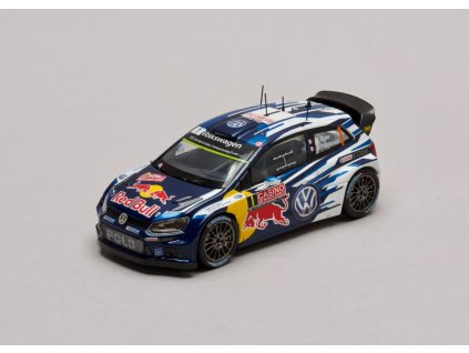 VW Polo R WRC #1 Rally Monte Carlo 2015 1:43 Spark pro VW