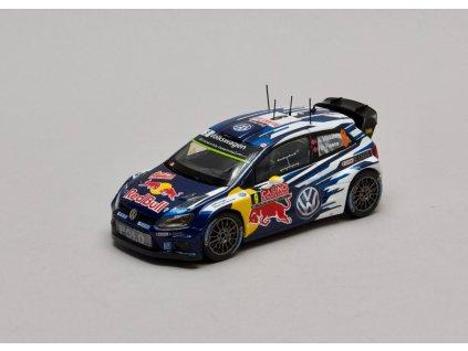 VW Polo R WRC #9 Rally Monte Carlo 2015 1:43 Spark pro VW