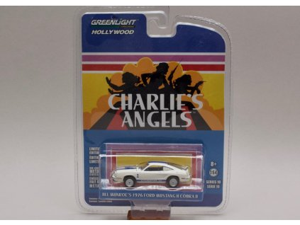 Ford Mustang Cobra II 1976 Charlie`s angels 1 64 Greenlight 44790 A