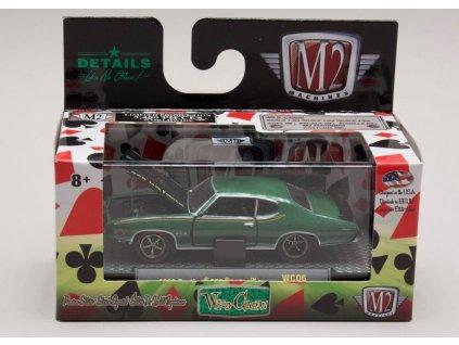 Pontiac GTO Judge 1969 zelená 1:64 M2 Machines