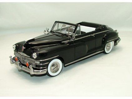 Chrysler New Yorker 1948 2.dv. Convertible černá 1:18 Signature
