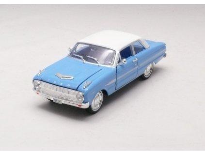 Ford Falcon Futura 1963 modro-bílá 1:32 Arko