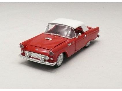 Ford Thunderbird 1955 červeno-bílá 1:32 Arko