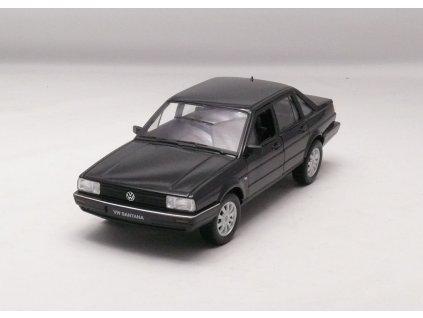 VW Santana 1986 černá 1:24 Welly