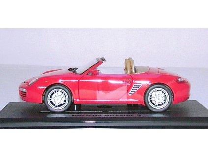 Porsche Boxster S červená 1:24 Mondo Motors