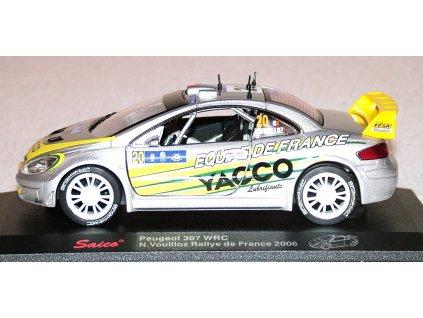 Peugeot 307 WRC 2006 Yacco Rallye de France # 20 1:32 Saico