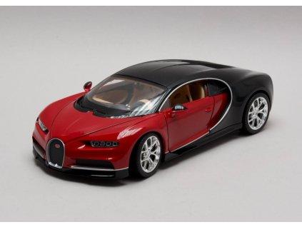 Bugatti Chiron červeno - černá 1:24 Welly