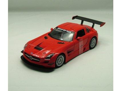 Mercedes-Benz SLS AMG GT3 červená 1:24 Motor Max