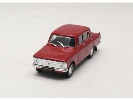 Moskvič 408 1966 vínová 1:43 Car Selection