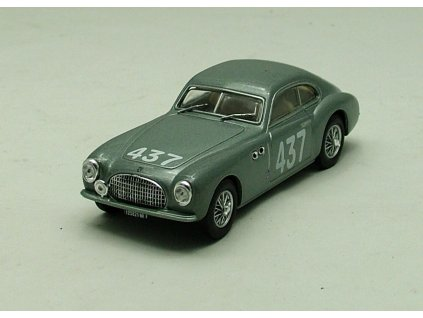 Cisitalia 202 1950 stříbrná 1:43 Car Selection