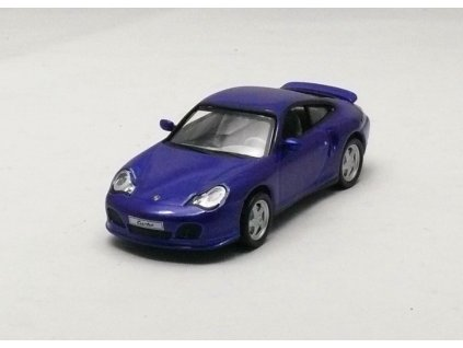 Porsche 911 Turbo Coupé 2000 modrá 1:43 Collection 711