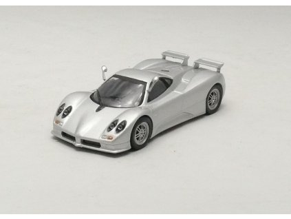 Pagani Zonda C12 S stříbrná 1:43 Car Selection