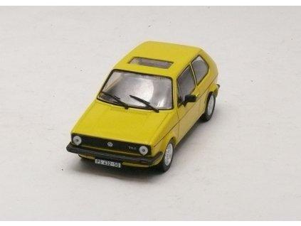 VW Golf I JGL 1975 žlutá 1:43 Car Selection