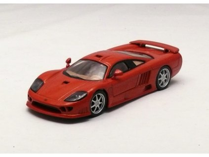 Saleen S7R oranžová metalíza 1:43 Car Selection