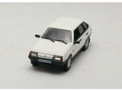 Lada Samare 2109 1987 bílá 1:43 Magazine models